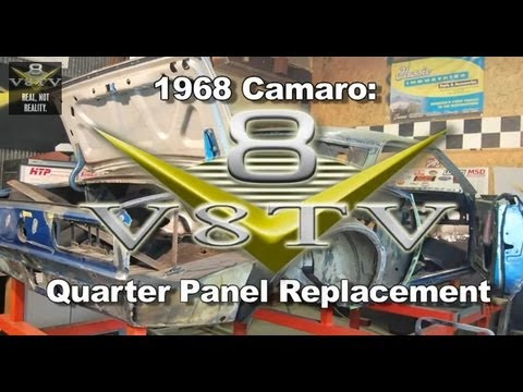 Camaro Quarter Panel Replacement on Www V8tvshow Com Replacing Quarter Panels On An American Muscle Car Is
