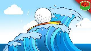 SURF!? Coolest Custom Map!   Golf It