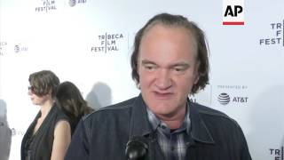 Quentin Tarantino walks Tribeca red carpet for 25th anniversary of 'Reservoir Dogs'