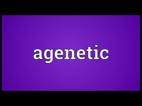 Header of agenetic