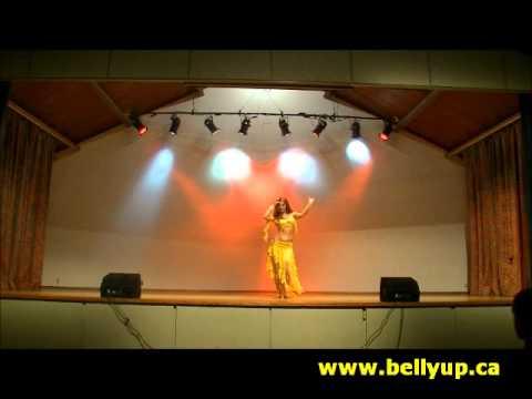 BellyUpBellyDance Presents Sadie Marquardt - Drum Solo Finale...
