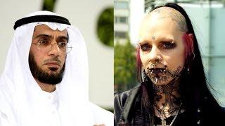 مواجهه قوية بين الشيخ محمد العوضي وفتاة من عبدة الشيطان في الكويت - فماذا حدث