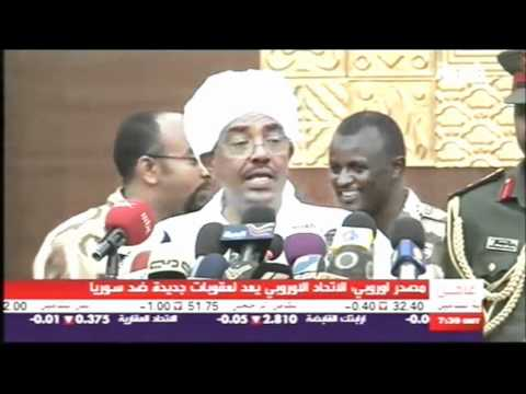 عمر البشير يهدد شعبه Omar al-Bashir threatens his people