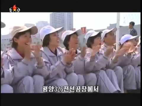May Day Juche 104 2015 in North Korea