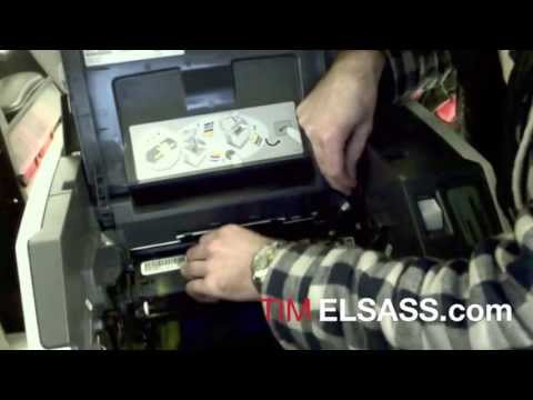 HP Color LaserJet 2840 Carousel Alignment. and Toner Replacement