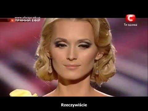 Aida Nikolaychuk Lauren Christy 'Color of the night' full [polish subtitles Napisy PL]