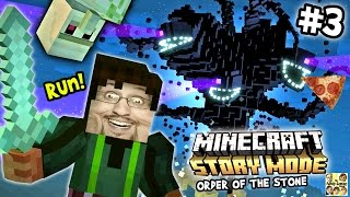 Lets play Minecraft story mode # 3: stoppen met spelen rond duddy (Episode One)