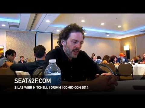 Silas Weir Mitchell GRIMM Interview Comic Con 2014