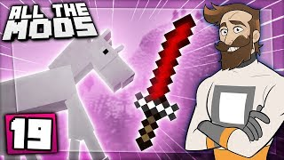 Minecraft All The Mods #19 - Unicorns Vs  Samurai
