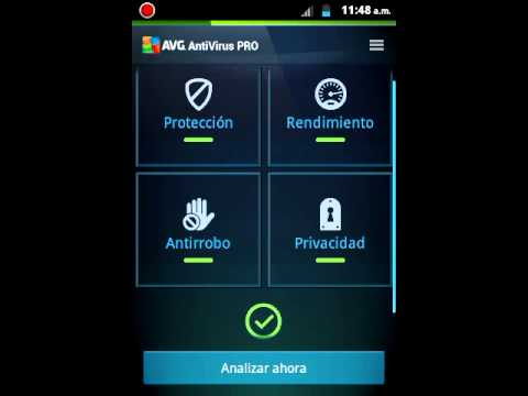 android antivirus  AVG pro (descarga)
