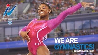 BILES Simone (USA) – 2014 Artistic Worlds, Nanning (CHN) – Qualifications Floor