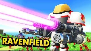 UNBELIEVABLE NEW MECHA ROBOT SUIT IN WORLD WAR 3 RAVENFIELD (Ravenfield Funny Gameplay)