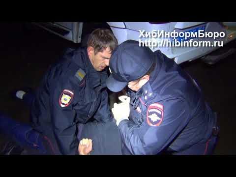 Задержание буйного на улице Строителей в Апатитах