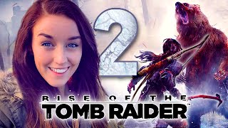BEAR GLITCH!?! ROTTR PART 2! (Rise of the Tomb Raider)