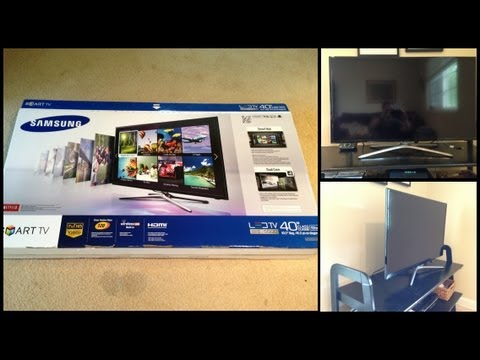 Unboxing Samsung Smart TV F5500 de 40