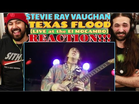 Stevie Ray Vaughan - Texas Flood (LIVE at El Mocambo) [Official Video] REACTION!!!