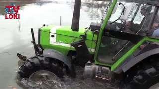 Deutz-Fahr DX 4.50 water test Kosinj 2018.