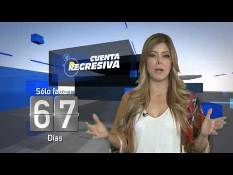 #CuentaRegresiva con Rebeca Moreno