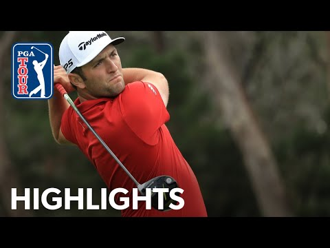 Jon Rahm shoots 1-under 71 | Round 2 | Farmers 2020
