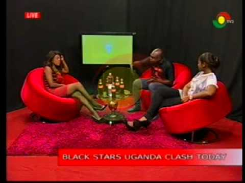 Diva Show - Discussing Ghana-Uganda Match -15/11/2014