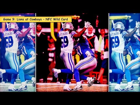 Top 20 Games of 2014: #9 Detroit Lions vs. Dallas Cowboys Highlights