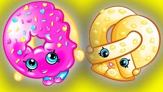 Shopkins Meet Happy Places and Grossery Gang 🌈 RaInBoW PoP 7 | Kids TV Shows