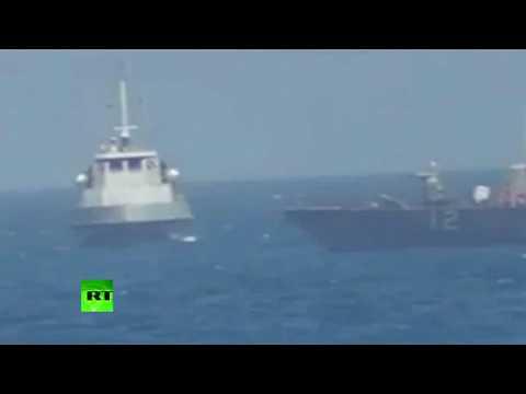US Navy fires warning shots near Iranian vessel