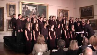 Trinity College Choir Whitacre Water Night Sydney Australia