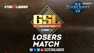 2018 GSL Season 3 Ro32, Group F, Losers Match: Ragnarok (Z) vs Bunny (T)