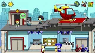 Scribblenauts Unlimited: A Hypocritical Time Traveling Green Person