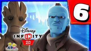Disney Infinity 2.0 - Guardians of the Galaxy Walkthrough Part 6 (Into the Fire) GUARDIANS Play Set