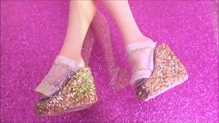 ✄ DIY| How to make Dolls Shoes! Eassy!