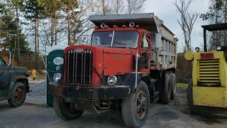 My 1000th video! - 1960s Autocar Dump Truck