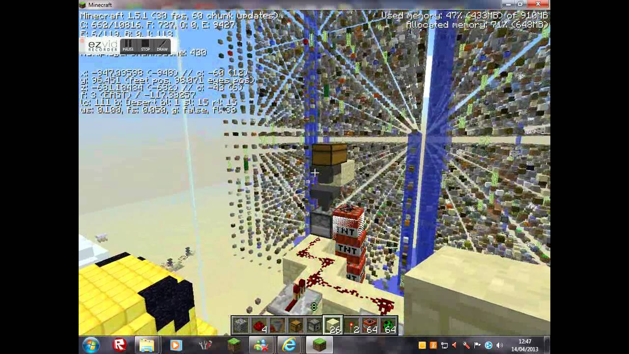 how to make it rain faster in minecraft