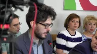 Максим Кац на заседании Бюро РОДП Яблоко. Выборы мэра.