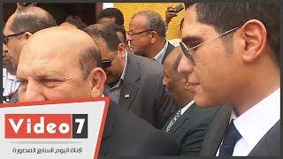 بالفيديو..عادل لبيت وناهد العشرى وأبو هشيمة يفتتحون قرية أولاد يحى بعد تطويرها