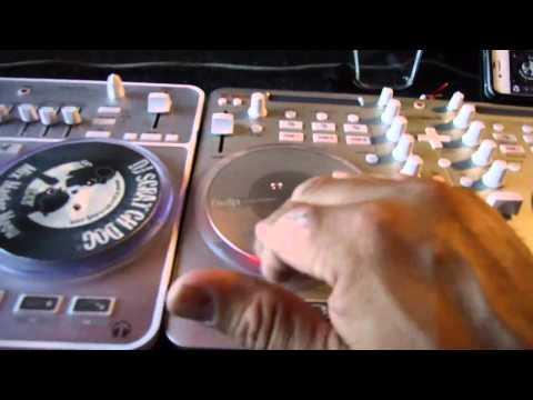 Vestax Spin vs Spin2 (Masta Hanksta)