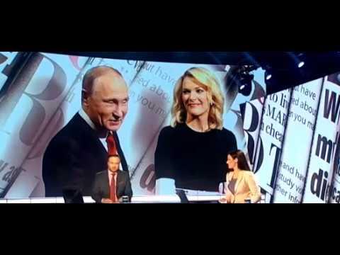 Интервью Путина телеканалу NBC посмотрели более 6 миллионов человек