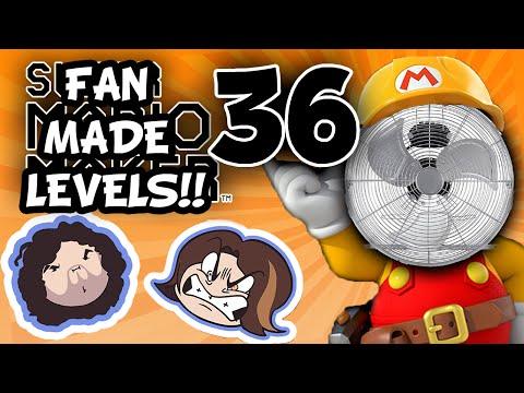 Super Mario Maker: Freak of Nature - PART 36 - Game Grumps