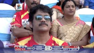 CCL6 Final Match - Telugu Warriors vs Bhojpuri Dabanggs || 1st Innings Part 3/3