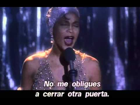 Whitney Houston en El guardaespaldas