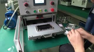 YMJ Vacuum Laminating Machine + OCA Film Laminator + for S7 Edge LCD Refurbishing 12.9 inch