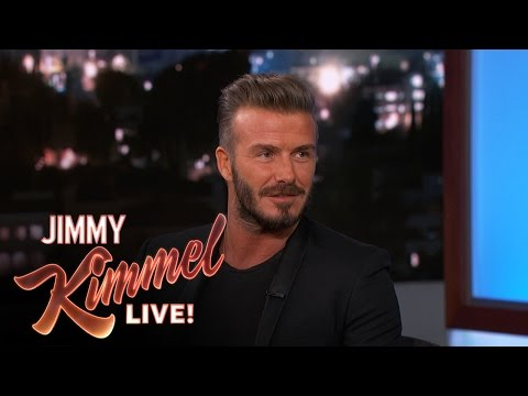 David Beckham on Being an NFL Kicker