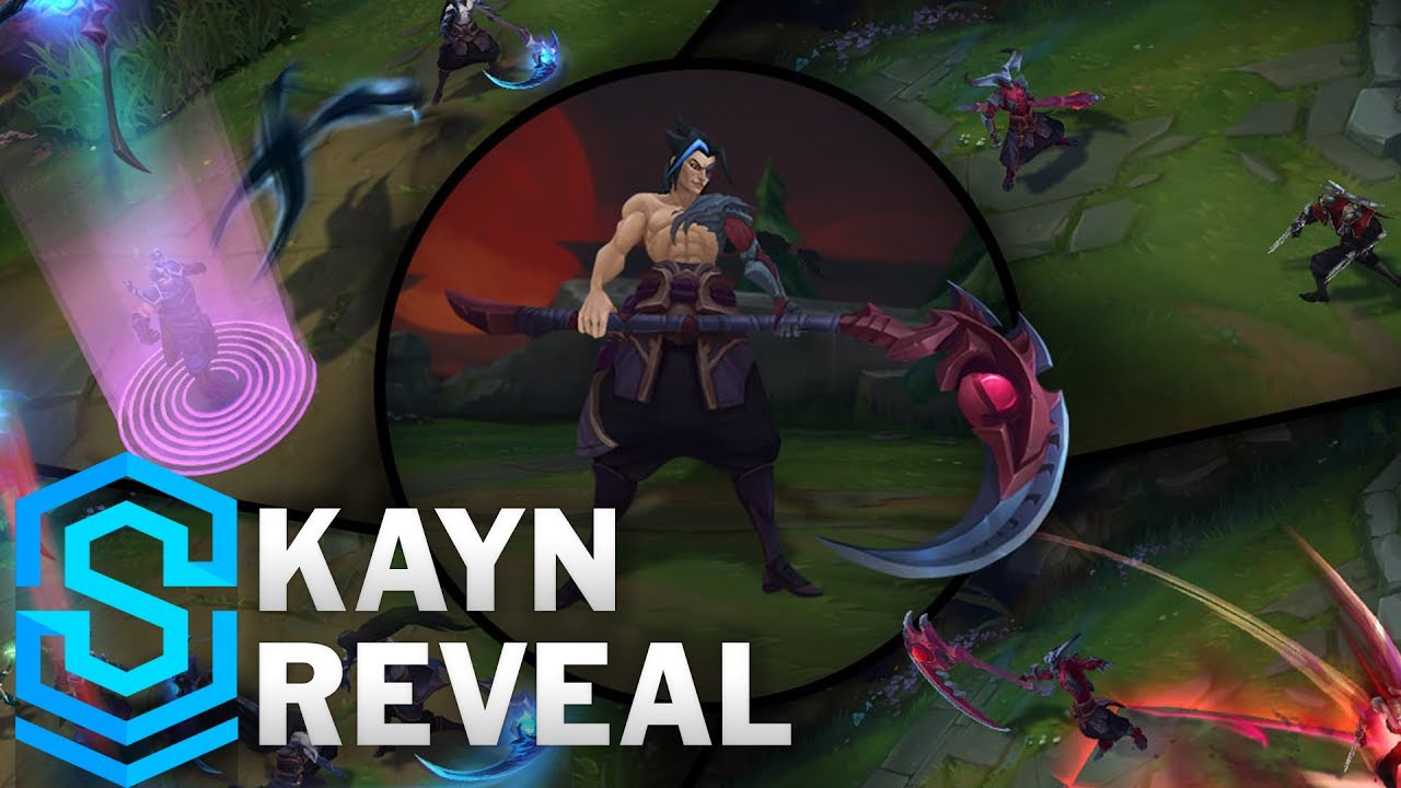 Kayn Reveal - The Shadow Reaper | New Champion