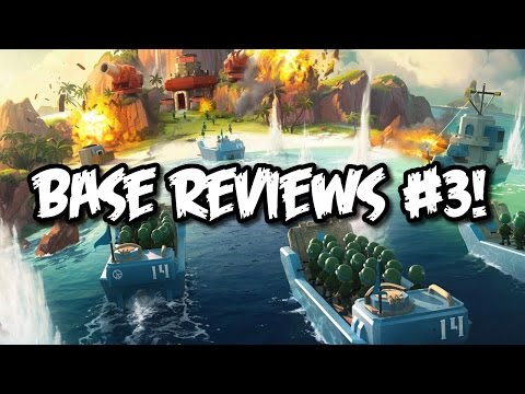 Boom Beach - Base Reviews #3   Base Layout/Setup + Defensive Strategy Analyzation