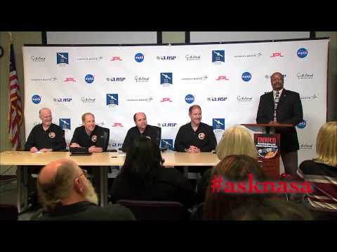MAVEN Post-Mars Orbit Insertion News Conference