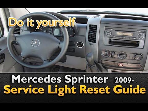 Mercedes Sprinter Service Light Reset