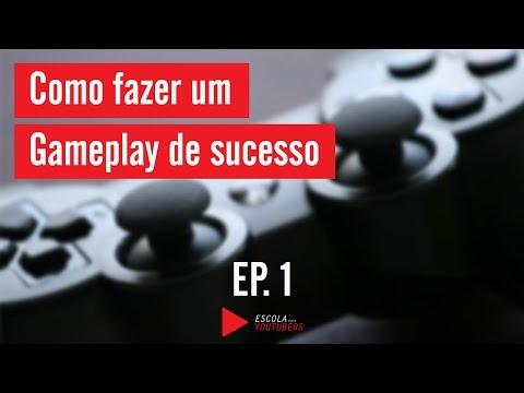 Como fazer gameplay no Youtube com sucesso EP.1| Especial Gamer Escola para youtubers thumbnail