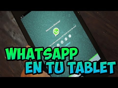 Descargar Whatsapp para tablet Android