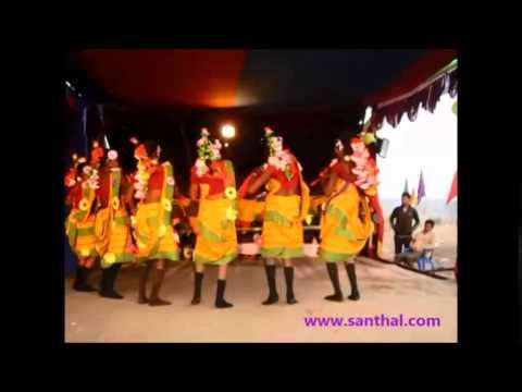 Santhali ( Santali ) Dance Performance  Song - Amah Muluj Landa Chemek Taadaam video
